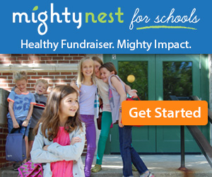 MightyNest for Schools fundraiser