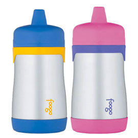 Foogo Leak-Proof Hard Spout Sippy Cup , 10 oz