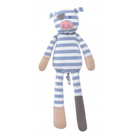 Pirate the Pig Organic Plush Toy