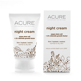 Night Cream: Argan Stem Cell + Chlorella