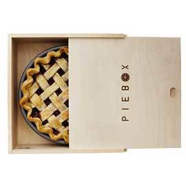 Wooden Pie Box