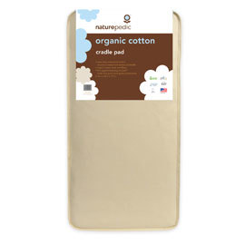 Square Cradle Mattress - Organic Cotton