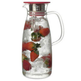 Mist Glass Ice Tea Jug, 50 oz.