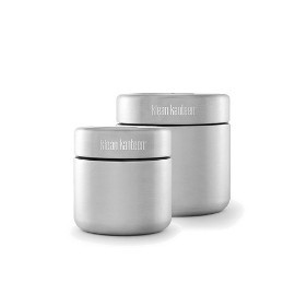 Stainless Steel Airtight Food Canisters (2 sizes)