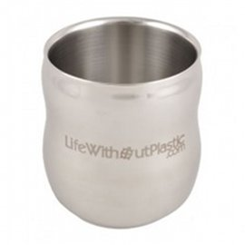 Double Wall Insulated Stainless Tumbler, 10.7 oz