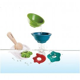 Water Landing Net Bath Toy Set