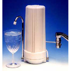 Countertop Water Filter, White