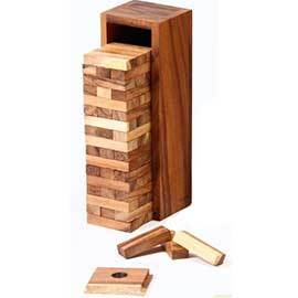 Solid Wood Tumbling Tower
