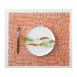 Silicone Placemat with Linen Pattern (3 colors)