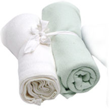 Organic Cotton Swaddle Blankets (set of 2)