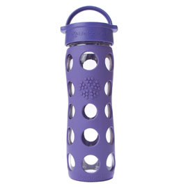 16oz Glass Water Bottle with Screw Cap