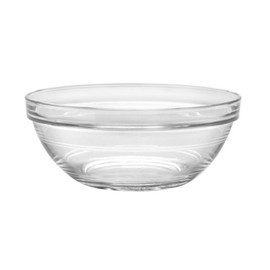 duralex stackable glass bowls