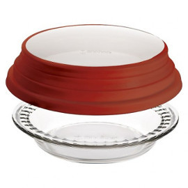 Deep Pie Dish with Lid