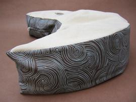 Organic Nursing Pillow - Blue Truffles