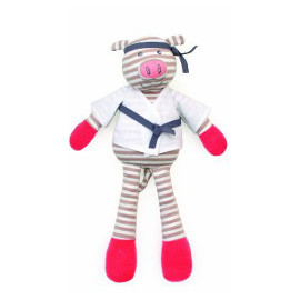 Porkchop Pig Organic Plush Toy