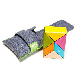 Prism Pocket Pouch Magnetic Blocks