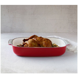 Smartglass Baking Dish, Shanghai Red