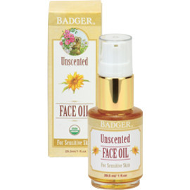 Unscented Organic Moisturizing Face Oil