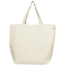 Recycled Cotton Canvas Tote Bag - MightyNest
