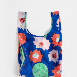 Reusable Shopping Bag, Cactus Flower