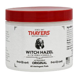 Witch Hazel Astringent Pads