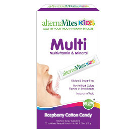 Alternatives Kids Quick-Melting MultiVitamin (30 servings)