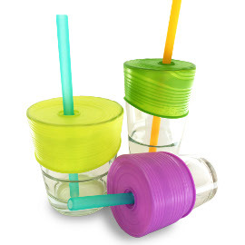 Silicone Straw Tops (3-pack)