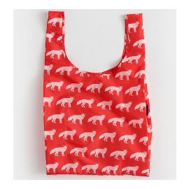 Reusable Shopping Bag, Red Fox