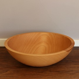 Wood Salad Bowl, 15 inch
