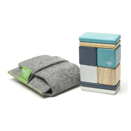 Pocket Pouch Magnetic Blocks: Original Blues