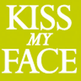 Kiss my face logo 0