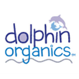 Dolphin organics logo