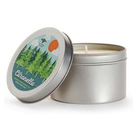 Citronella Candle Tin
