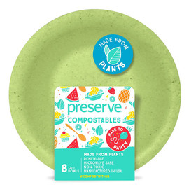 Compostable Bowls, 12 oz (8 count)