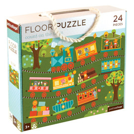 Count On The Train Floor Puzzle