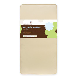 Organic Cotton Crib Mattress Quilted Side / Waterproof Side