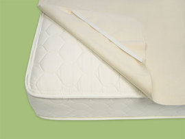 Organic Mattress Pad (Queen w/straps)