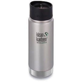 16oz Wide Insulated Bottle with Cafe Cap