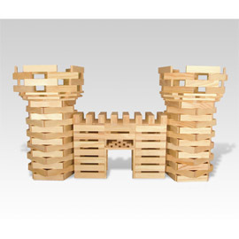 Natural Wood Building Blocks